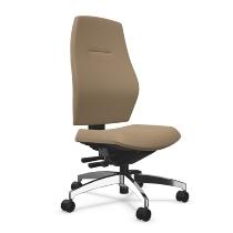 Dauphin Bürodrehstuhl Shape comfort XT2 flacher Komfortsitz Rückenlehne Höhe 65-75cm - KONFIGURIERBAR