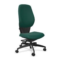 Dauphin Bürodrehstuhl Shape comfort flacher Komfortsitz hohe Rückenlehne - KONFIGURIERBAR