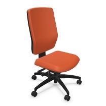 Dauphin Bürodrehstuhl Shape elan ergonomisches Rückenlehnendesign höhenverstellbar - KONGURIERBAR